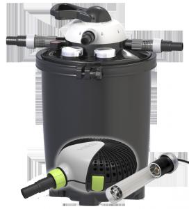VELDA CLEAR CONTROL 75 SET + UV-C 36 WAT+ Pomp Green Line 12500+Slang