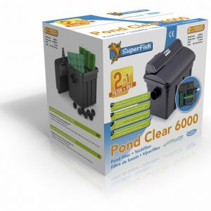 SF PONDCLEAR 6000 KIT UVC-7 WATT