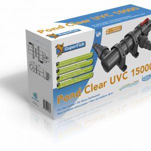SF PONDCLEAR UVC 15000 L  18 WATT