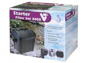 VT STARTER FILTER SET 3000+UVC EN VIJVERPOMP