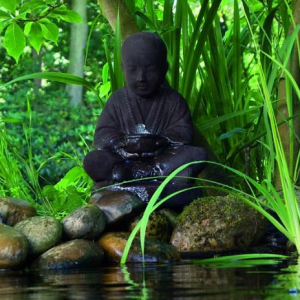 Boeddha waterornament Semarang