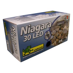 Ubbink waterval Niagara 30 LED roestvrij staal