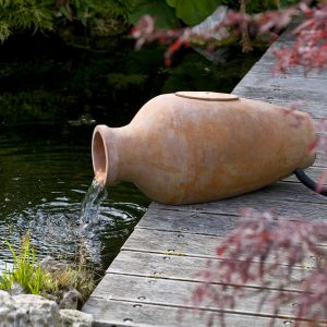 Acqua Arte set Amphora waterornament