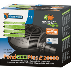 SF Pond Eco Plus RC 20.000 – regelbare vijverpomp