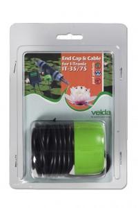 End cap & cable T-Flow Tronic 35-75
