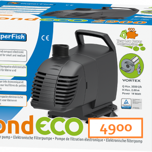 SuperFish Pond ECO 4900 29 Watt
