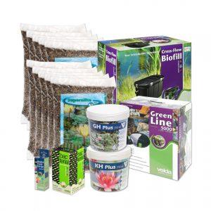 Velda vijverstartpakket voor vijver tot 10000 liter, plantenvijver