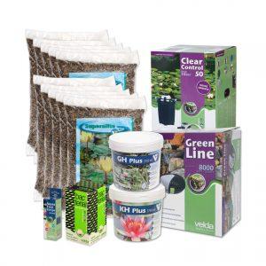 Velda vijverstartpakket voor vijver tot 10000 liter, waterval