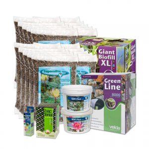 Velda vijverstartpakket voor vijver tot 20000 liter, plantenvijver