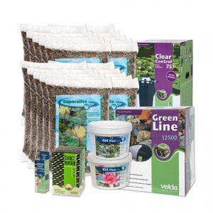 Velda vijverstartpakket voor vijver tot 20000 liter, waterval