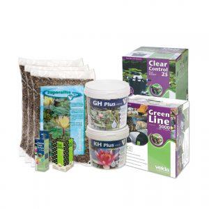 Velda vijverstartpakket voor vijver tot 3000 liter, waterval
