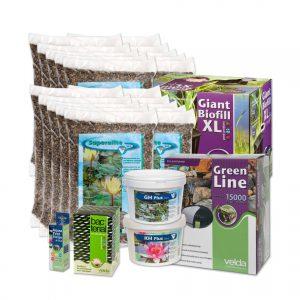 Velda vijverstartpakket voor vijver tot 20000 liter, vissenvijver