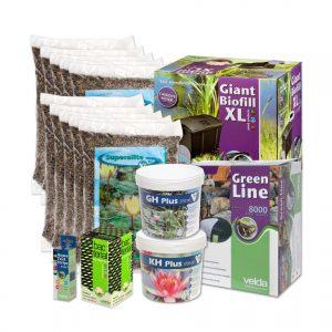 Velda vijverstartpakket voor vijver tot 10000 liter, vissenvijver