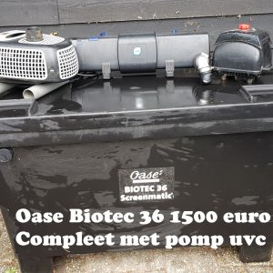 OASE FILTER SET BIOTEC 36 BITRON 36c POMP MESSNER 16000
