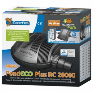 SF Pond Eco Plus RC 20.000 – regelbare vijverpomp