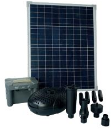 UBBINK SOLARMAX 2500 MET POMP PANEEL ACCU